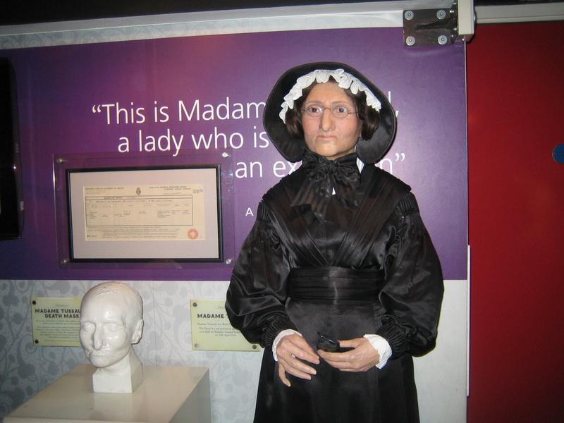 Знакомство с музеем Madame Tussauds